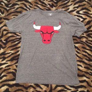 Chicago Bulls Adidas Back Shirt Size Large
